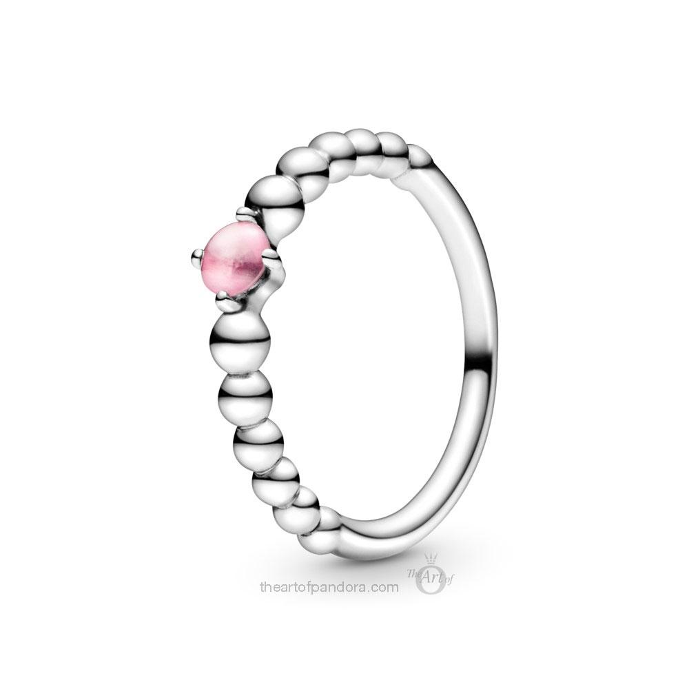 198598C09 Pandora October Birthstone Ring Pandora 2020 pre valentines day collection