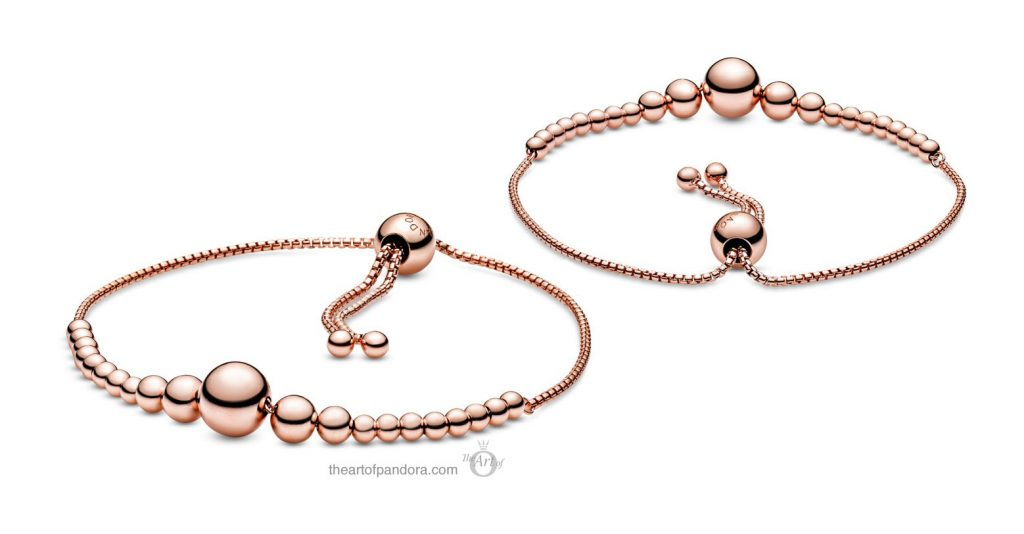 Pandora String of Beads Slider Bracelet (587749C00) Valentine's Day 2020