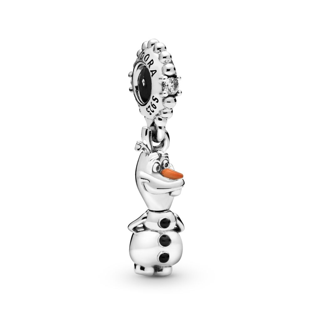 Pandora Disney Frozen Olaf Dangle Charm 798455C01 Winter gwp free bracelet new Harry Potter star wars gift