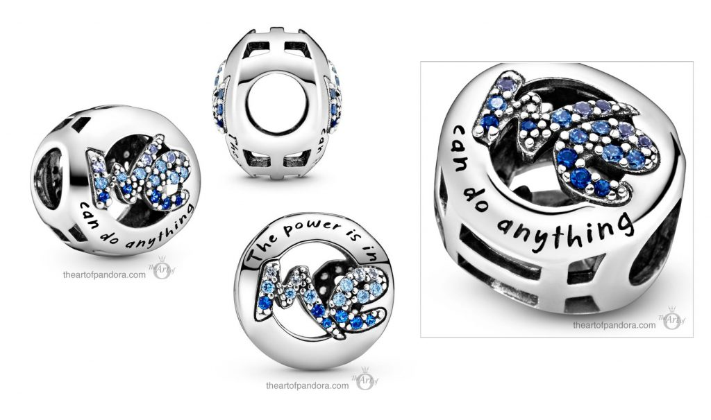 Pandora We Can Do Anything Charm (798596C01)  Pandora Valentines Day Chinese New Year 2020 Collection