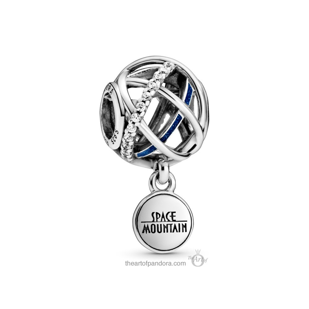 Pandora Disney Parks  Space Mountain Charm (798633C01) Pandora Disney Valentine's Day & Chinese New Year 2020 Collection Baby Yoda