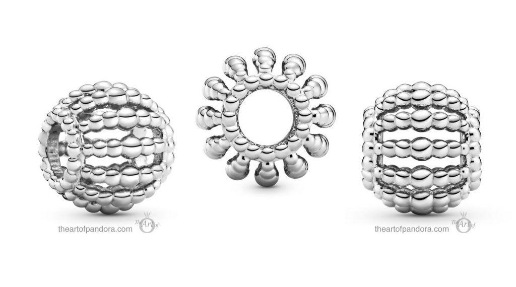 Pandora Beaded Openwork Charm (798679C00) Pandora Valentines Day Chinese New Year 2020 Collection