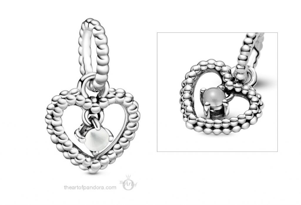 798854C04  Pandora April Birthstone Pendant Charm Pandora 2020 pre valentines day collection
