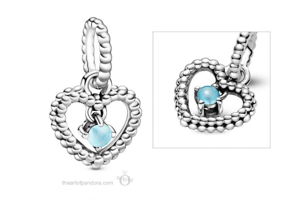 Pandora September Birthstone Pendant Charm (798854C07) Pandora 2020 pre valentines day collection