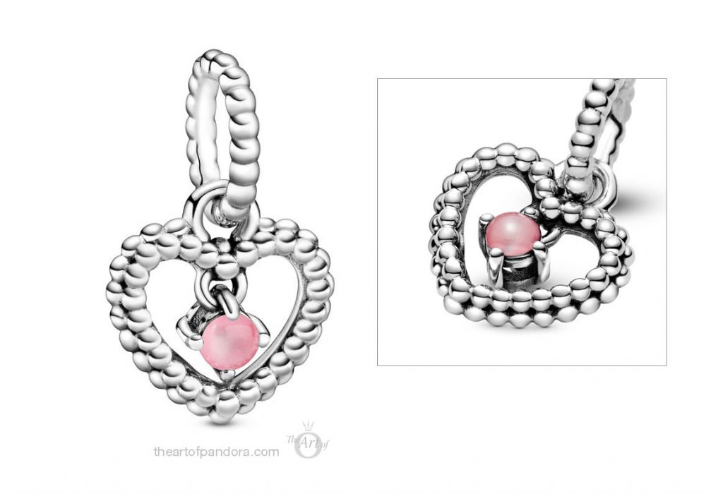 Pandora October Birthstone Pendant Charm (798854C09) Pandora 2020 pre valentines day collection