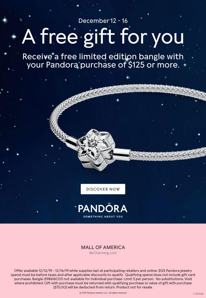 Pandora Christmas 2019 Promotion - The Art of Pandora | The #1 ...