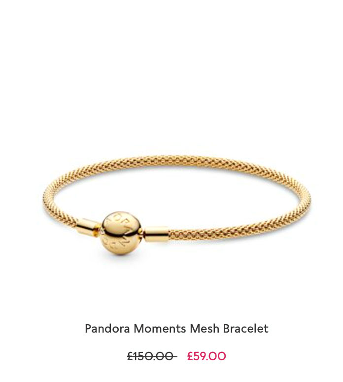 Pandora Moments Mesh Bracelet pandora sale