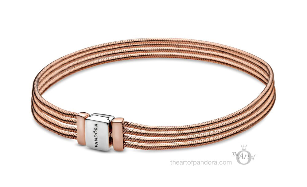 588782C00 Pandora Rose Reflexions Multi Snake Chain Bracelet