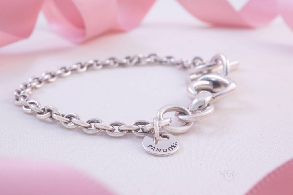 Pandora Knotted Heart T-Bar Bracelet 598100 Mothers day 2020 2019 new collection blog gwp free promo