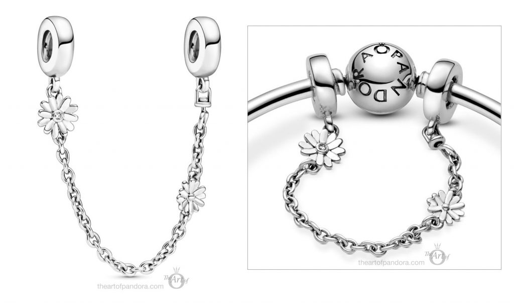 Pandora Daisy Flower Safety Chain (798764C01)