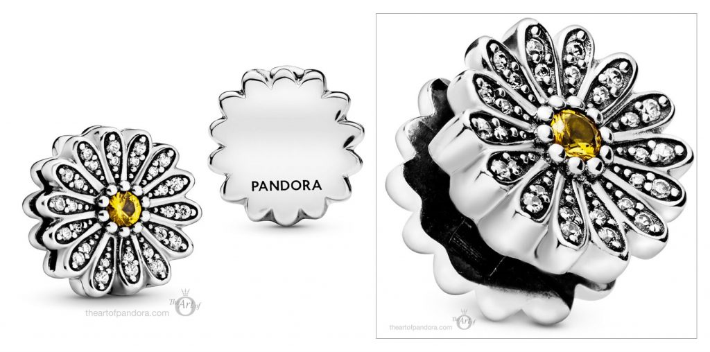 798766C01 Pandora Reflexions Sparkling Daisy Clip