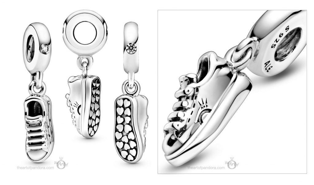 798802C01 Pandora Sneaker Shoe Dangle Charm
