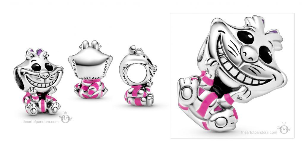 disney Alice in Wonderland Cheshire Cat Charm 798850C01 Disney x Pandora Babies Collection pandora mothers day new collection Disney babies baby 2020 blog blogger