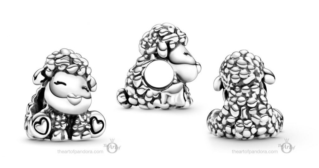 798870C00 Pandora Patti the Sheep Charm