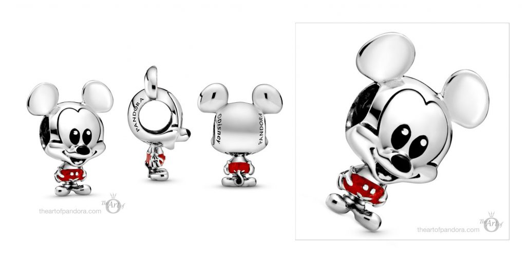Pandora Disney Mickey Mouse Red Trousers Charm (798905C01) pandora mothers day new collection Disney babies baby 2020 blog blogger