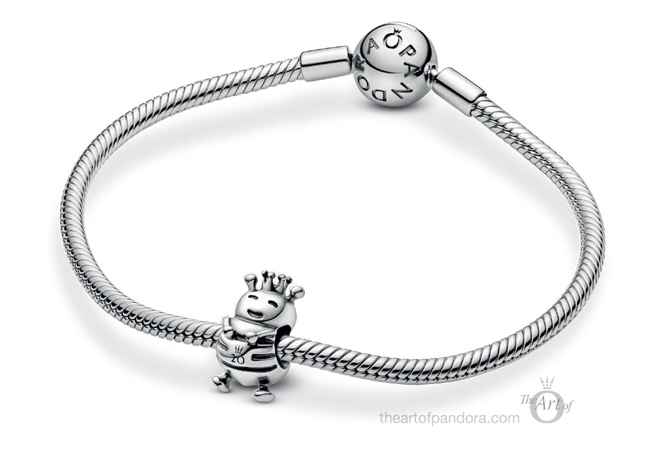 Limited Edition Pandora 20th Anniversary Queen Bee Charm (798954C00)