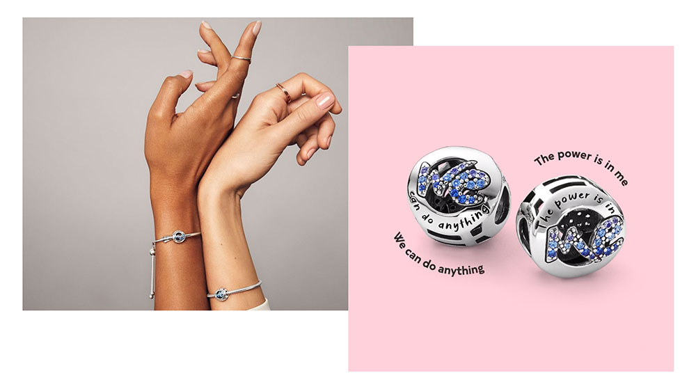Pandora for UNICEF We Can Do Anything charm