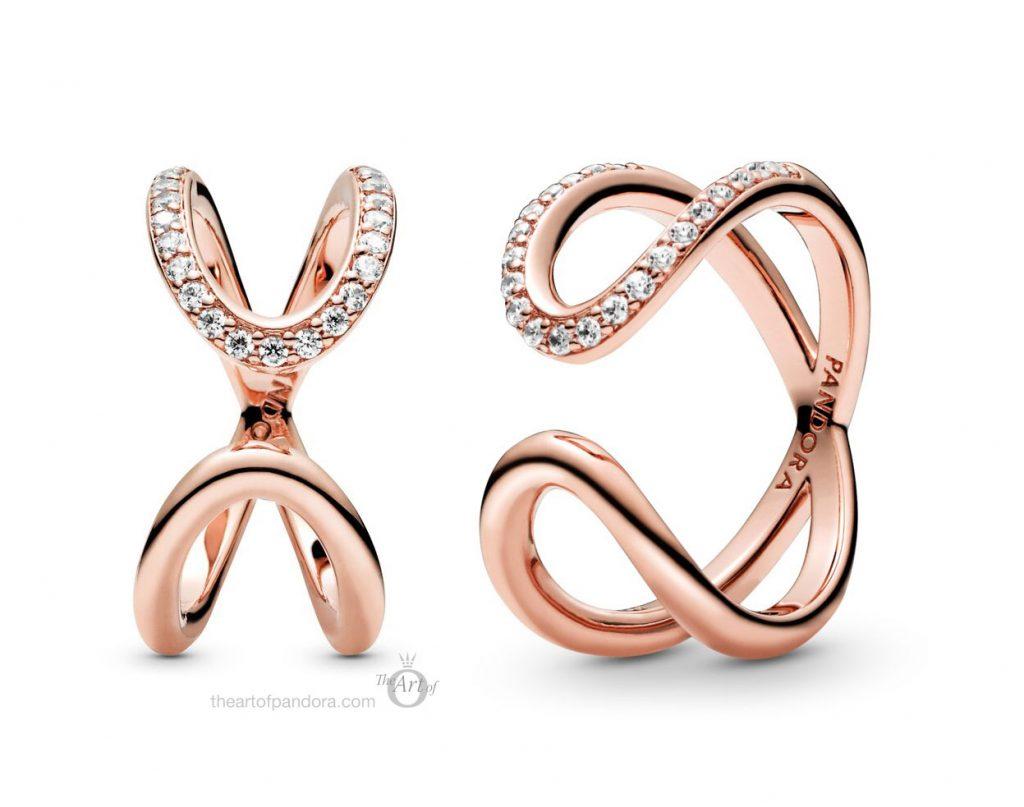 188882C01 Pandora Wrapped Open Infinity Ring