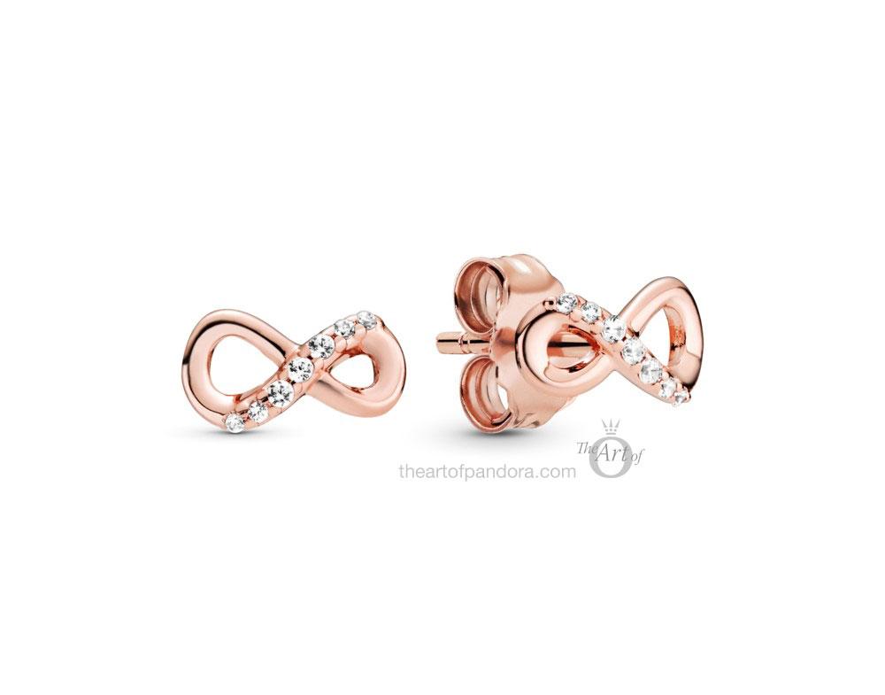 Pandora Rose Sparkling Eternity Stud Earrings (288820C01)