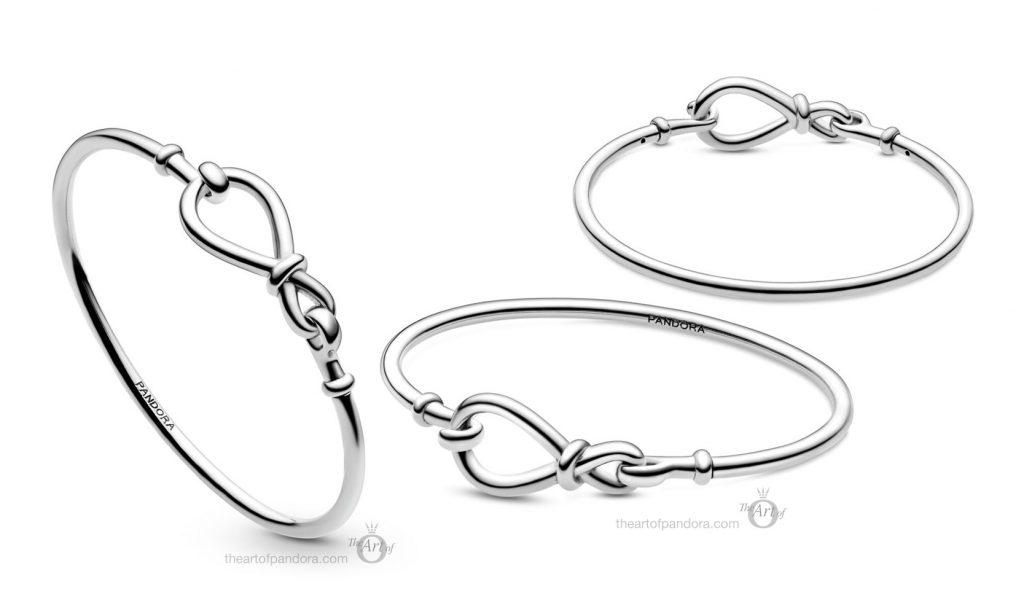 Pandora Infinity Knot Bangle (598893C00)