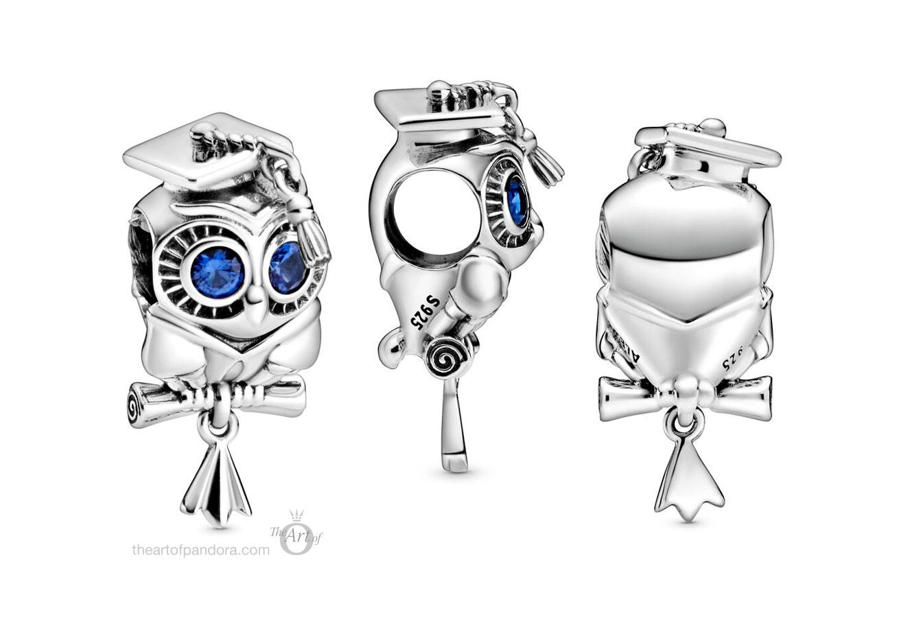 798907C01-Pandora-wise-owl-graduation-charm - The Art of Pandora ...