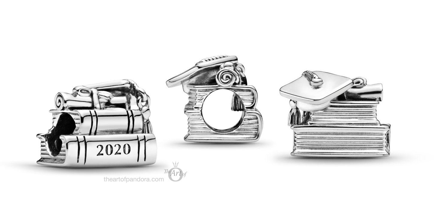 798910C00-Pandora-2020-graduation-books-charm - The Art of Pandora ...