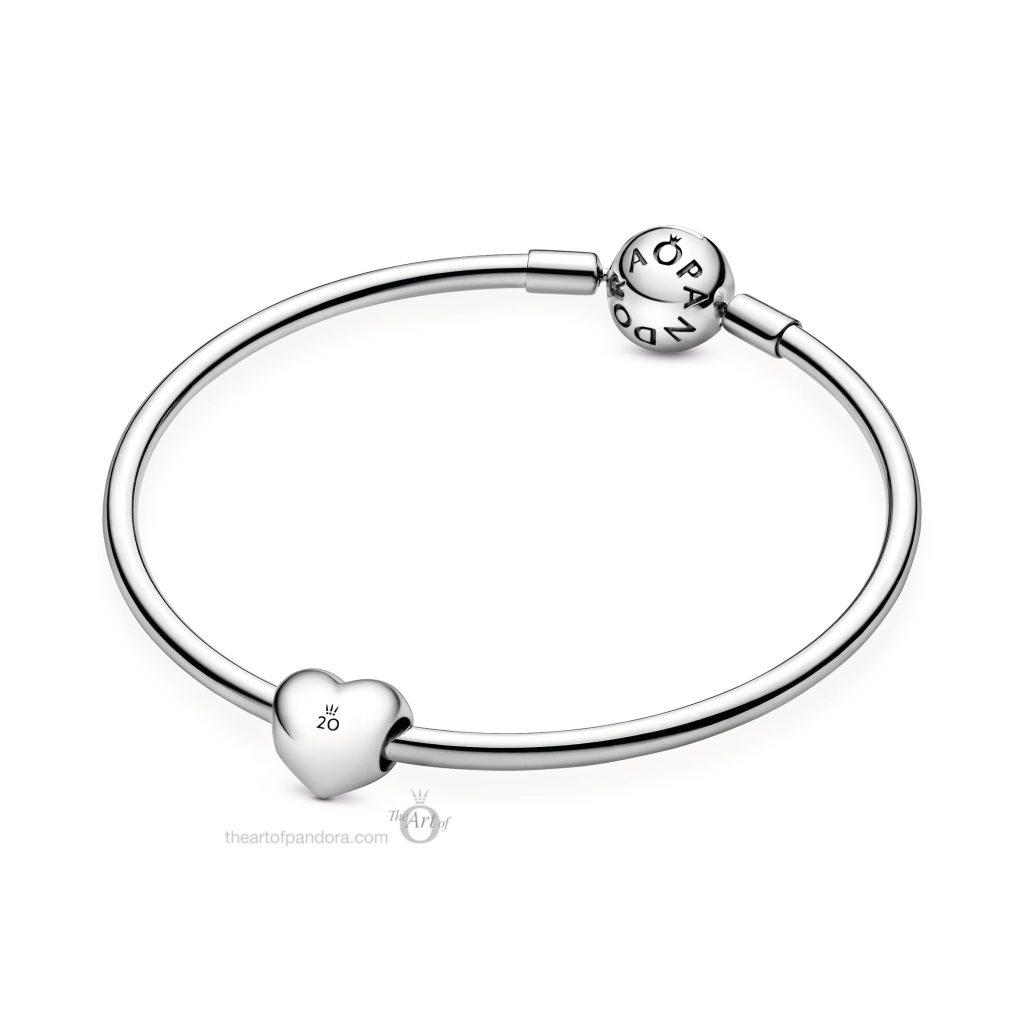 Pandora 20th Anniversary Heart Charm - The Art of Pandora | The #1 ...