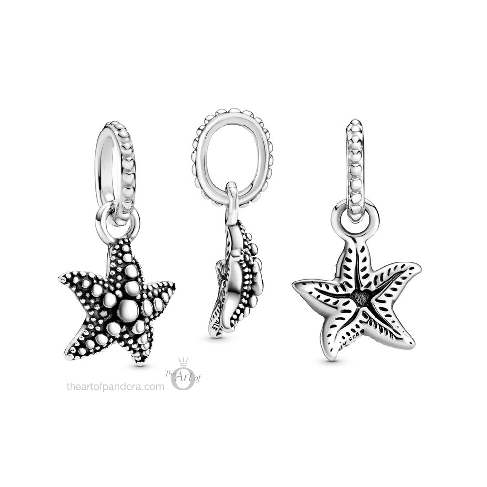 398945C00 Pandora Beaded Starfish Pendant summer 2020 collection
