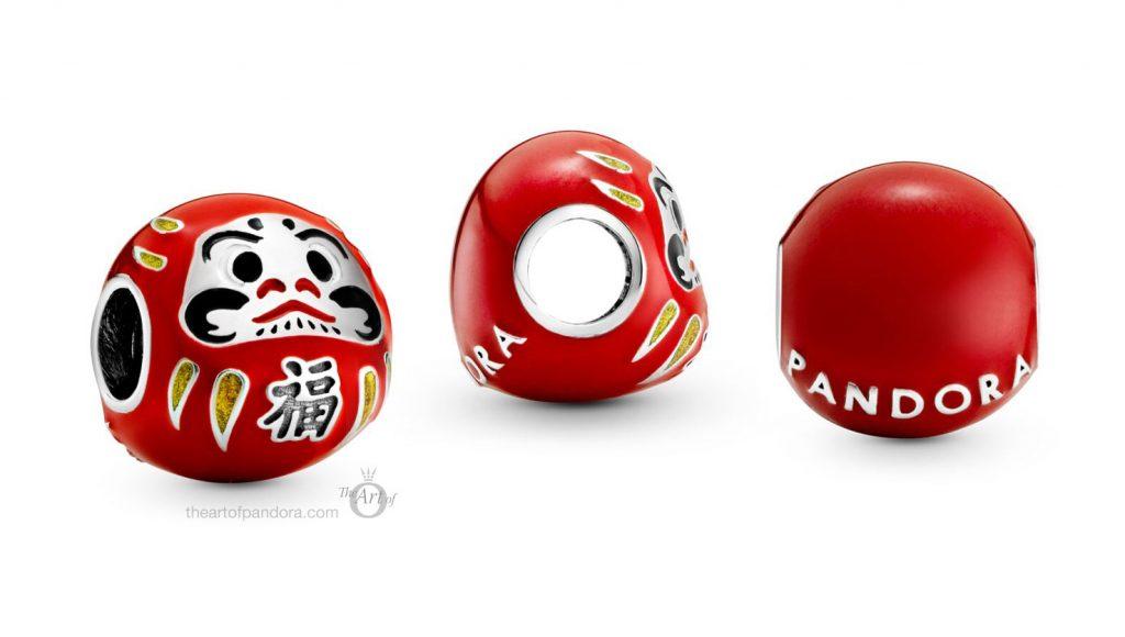 Pandora Red Daruma Doll Charm (798920C01) summer 2020