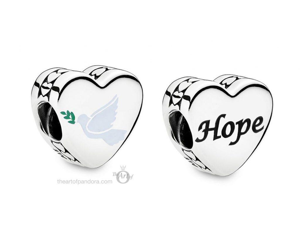 Pandora Dove of Hope Charm  (ENG792015_22) summer 2020