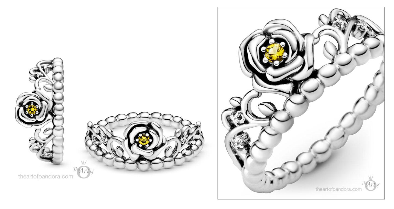 199013C01-Pandora-Disney-Beauty-and-the-Beast-belle-Tiara-ring ...