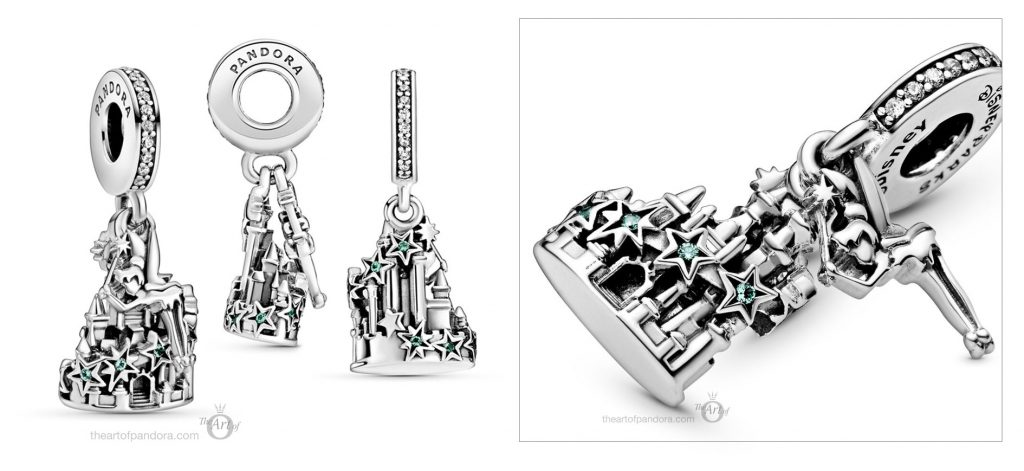 798856C01 Pandora Disney Parks Tinker Bell and Castle of Magical Dreams Charm summer 2020