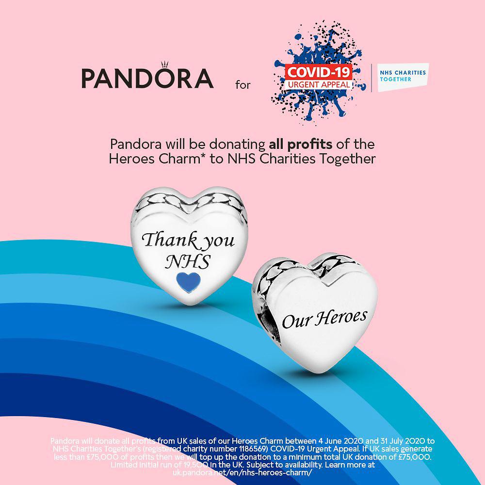 pandora NHS uk charities together