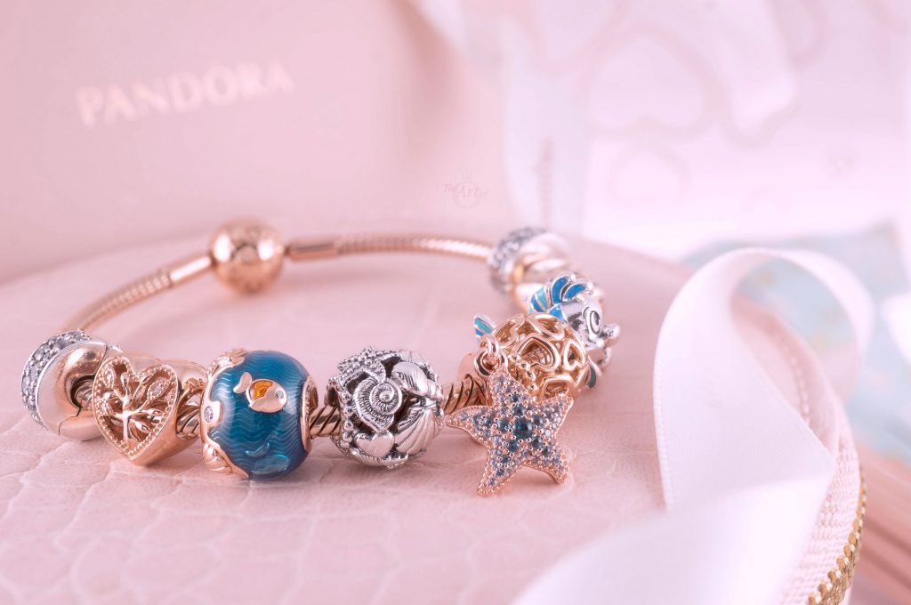 789004C01 Pandora Rose Shimmering Ocean Waves & Fish Charm Pandora Summer 2020 new collection review 3 for 2 gwp sale Harry Potter Disney promotion pre-autumn autumn