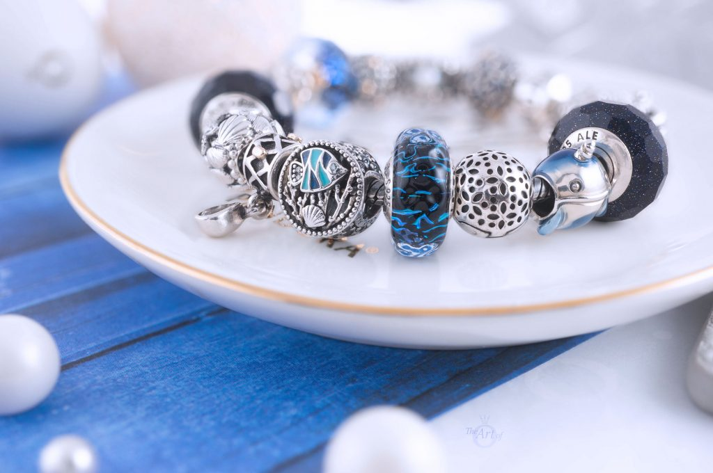 Pandora Murano Glass Sea Turtle Dangle Charm 798939C01 Summer 2020 limited edition new collection Harry Potter disney review theartofpandora official uk estore 798949C00 Pandora Openwork Seahorses Heart Charm Pandora 798938C00 Wavy Dark Blue Murano Glass Ocean Charm