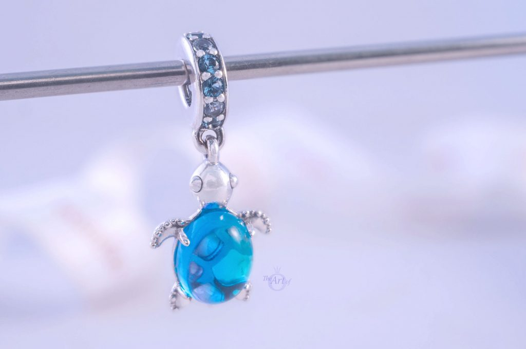 Pandora Murano Glass Sea Turtle Dangle Charm 798939C01 Summer 2020 limited edition new collection Harry Potter disney review theartofpandora official uk estore