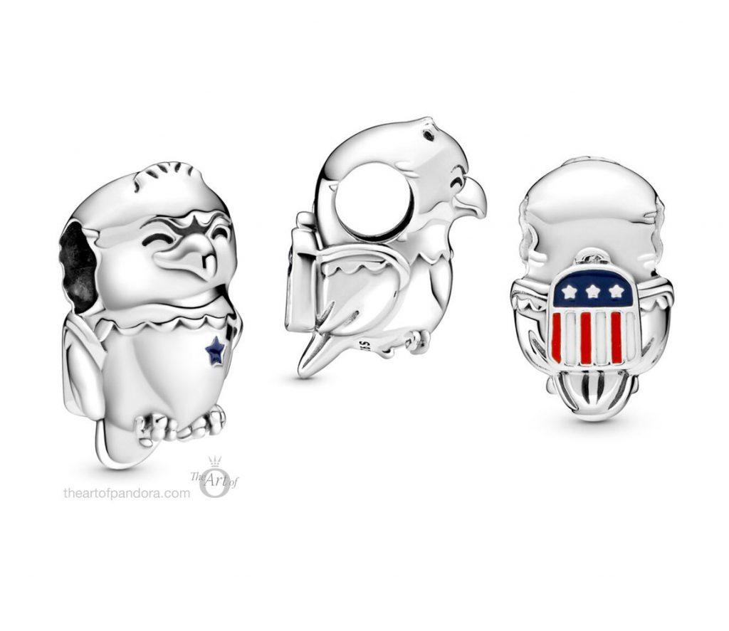 Pandora American Bald Eagle Charm (799029C01) Pandora Pre-Autumn 2020 Collection
