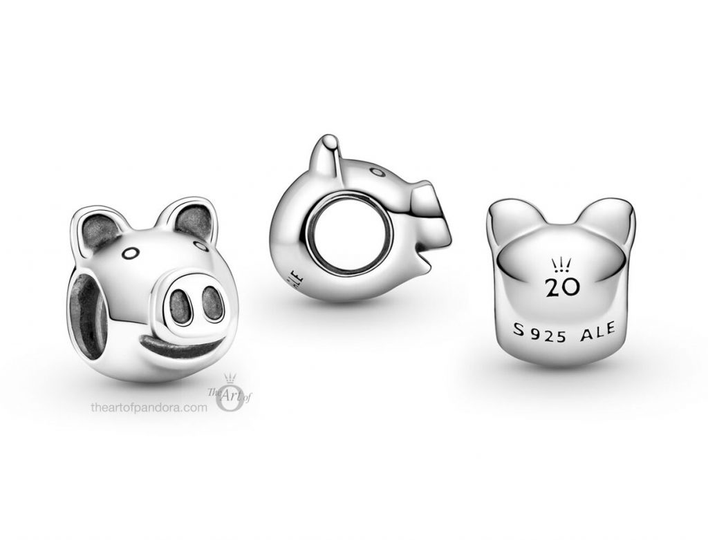 Limited Edition Pandora 20th Anniversary Pig Charm 799064C00 B82007EN