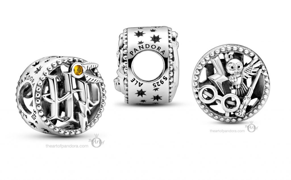 Harry Potter x Pandora Openwork Icons Charm  (799127C01) Summer autumn new collection 2020
