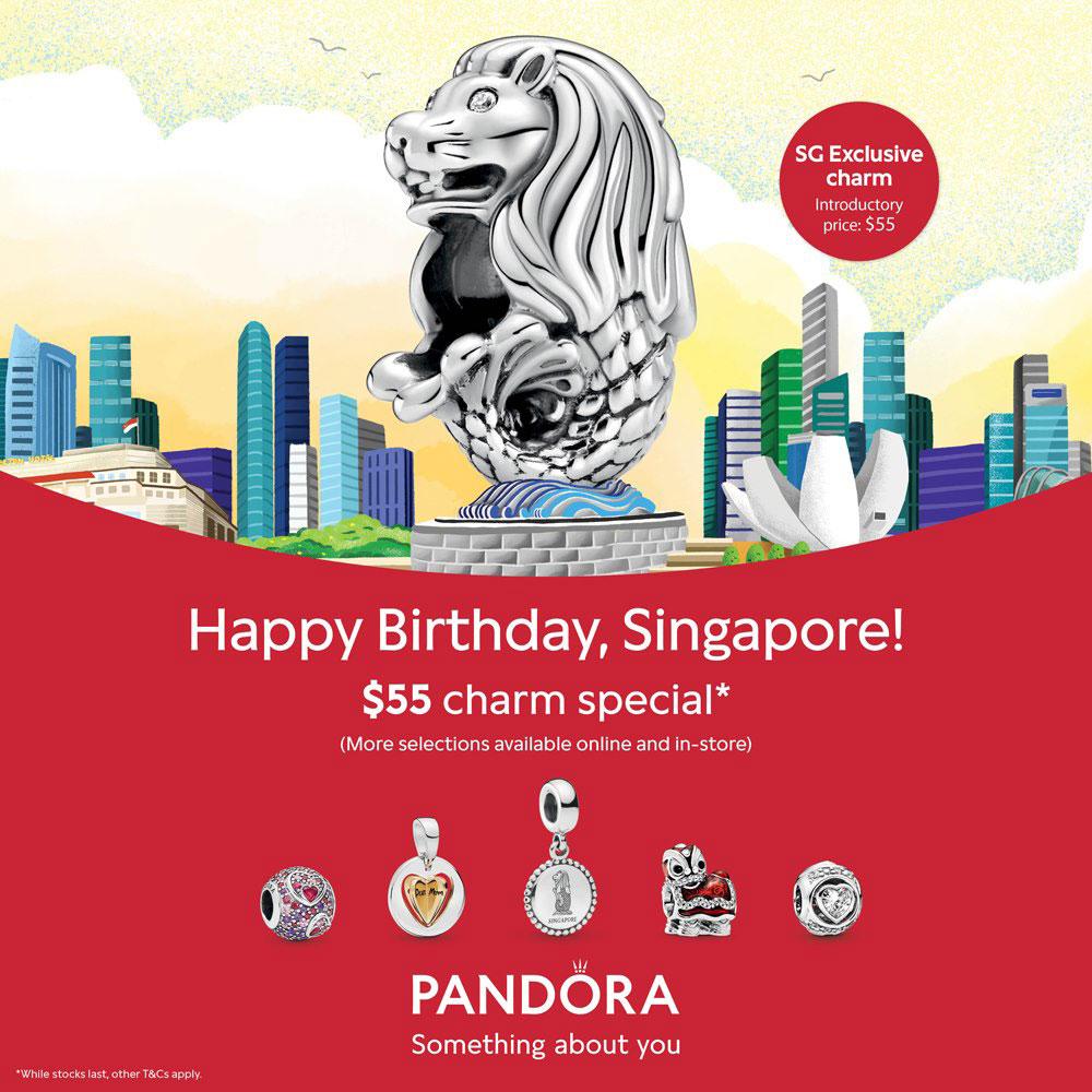 Singapore Exclusive Pandora Merlion Charm