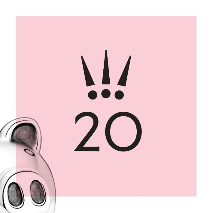 Pandora 20th Anniversary Pig Charm - The Art of Pandora   The #1 ...