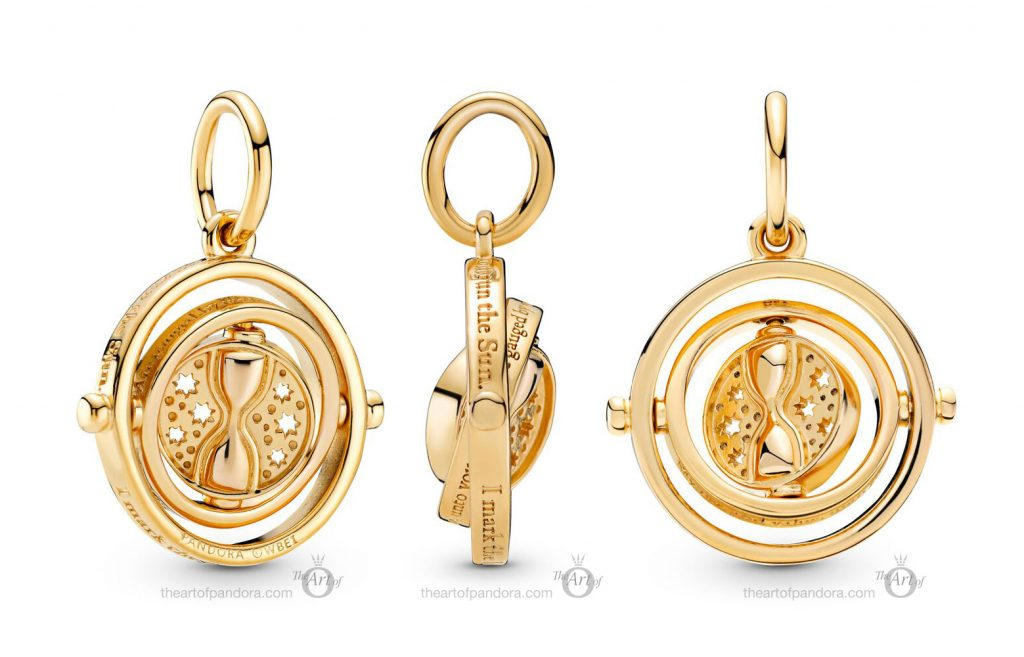 Pandora Harry Potter Spinning Time Turner Pendant (369174C00)