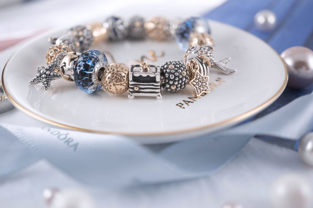 Summer Ocean 2020 new collection Disney Star Wars x Pandora blog blogger review autumn 798950C00 Pandora Openwork Starfish Shells & Hearts Charm Pandora Beaded Starfish Pendant (398945C00) Cinderella anniversary