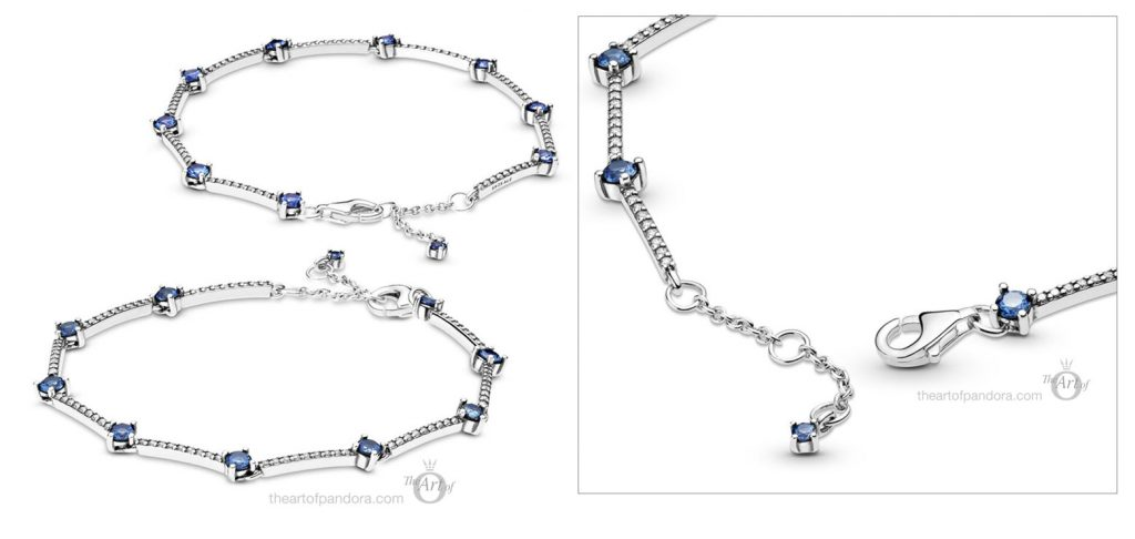 599217C01 Pandora Sparkling Pave Bars Bracelet winter 2020