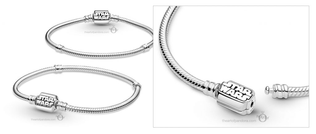 599254C00 Pandora Star Wars Moments Snake Chain Bracelet Autumn 2020 new collection Winter