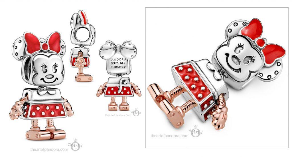 Limited Edition Disney x Pandora Minnie Mouse Robot Charm (789090C01) autumn 2020