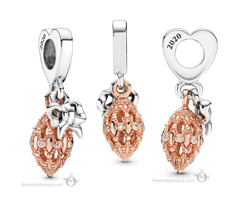 Pandora Rose 2020 Ornament Charm (789170C01) winter 2020 Black Friday gift set