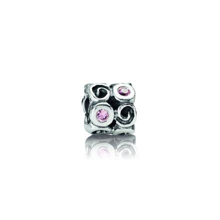 Pandora Pink Fantasy Swirl Charm (790263PCZ)