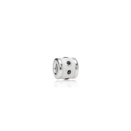 Pandora White Promise Enamel Charm (790482EN12)