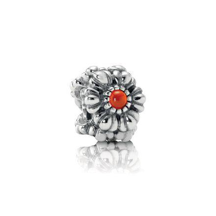 790580CAR Pandora July Birthday Bloom Charm